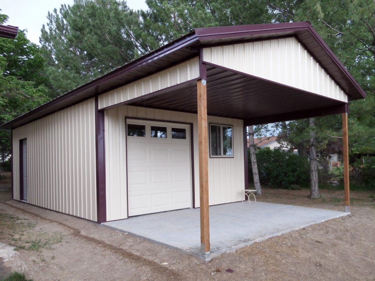 Metal Building Garage in Delta CO