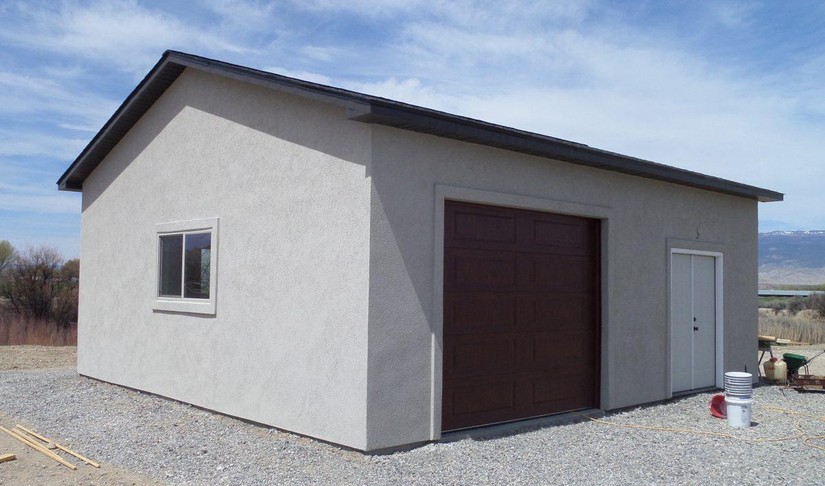 Detached Garage Building