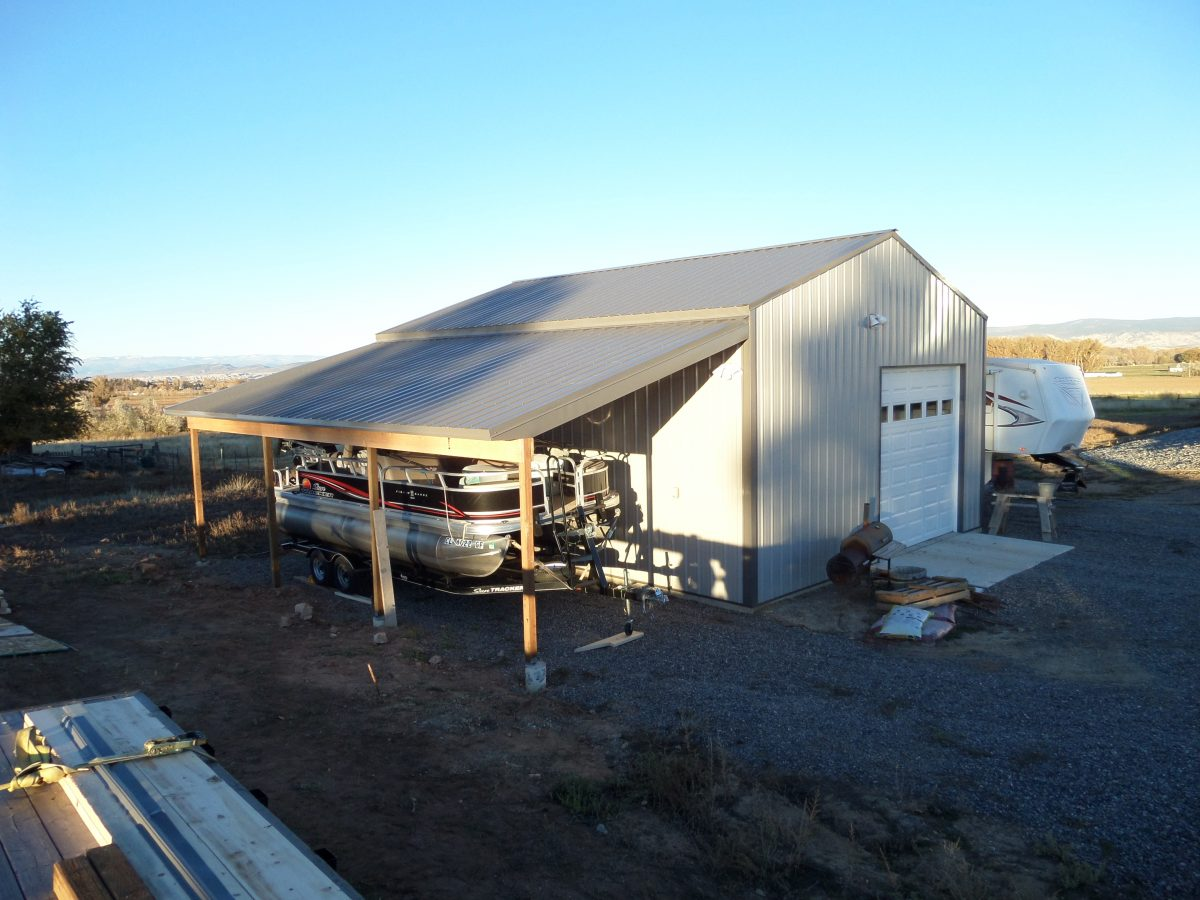 Storage Metal Building System