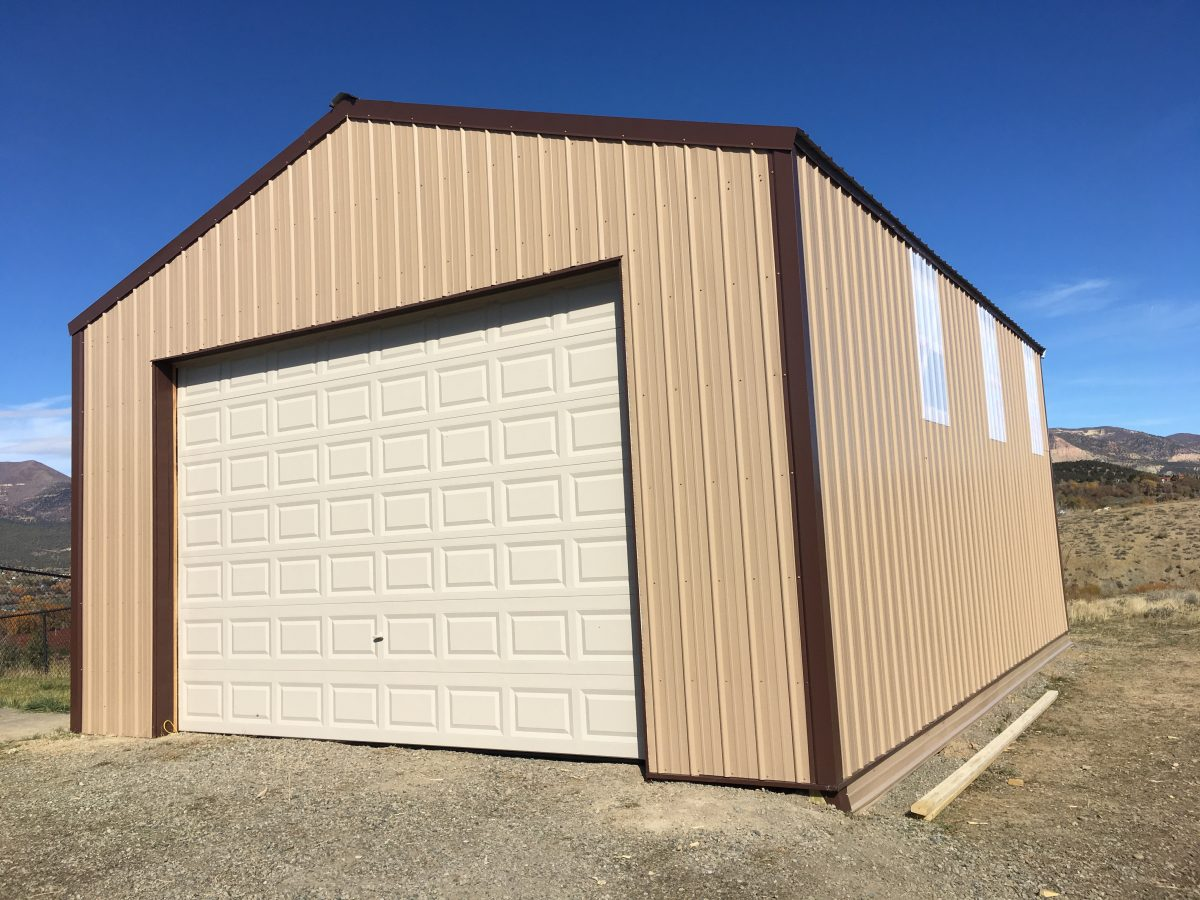 24 x 32 x 12 - Metal Garage by LOOK Buildings