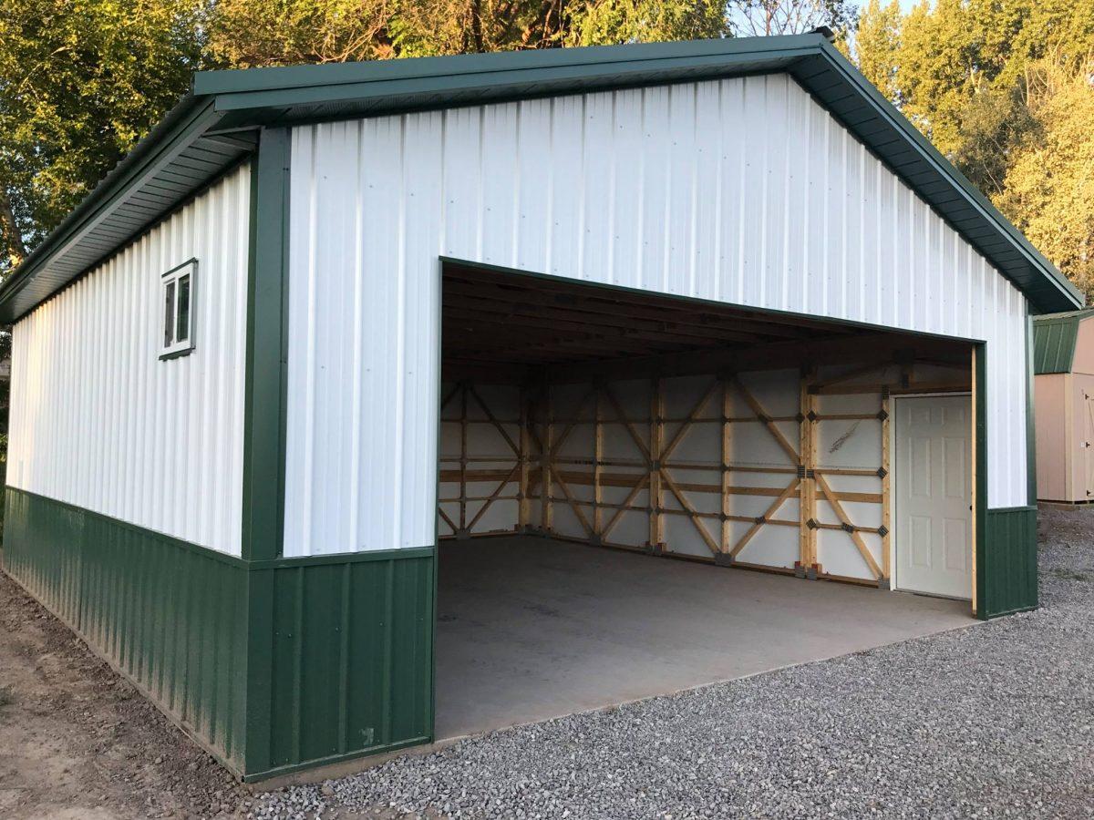 24x26x9 - Look Buildings Steel Kits