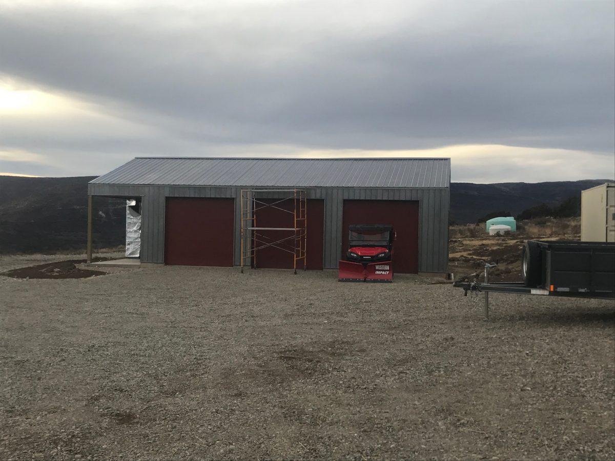 Metal Storage Building System
