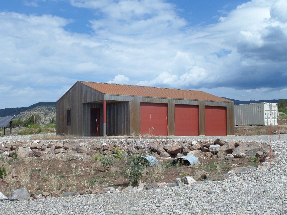 Metal Building Garage System