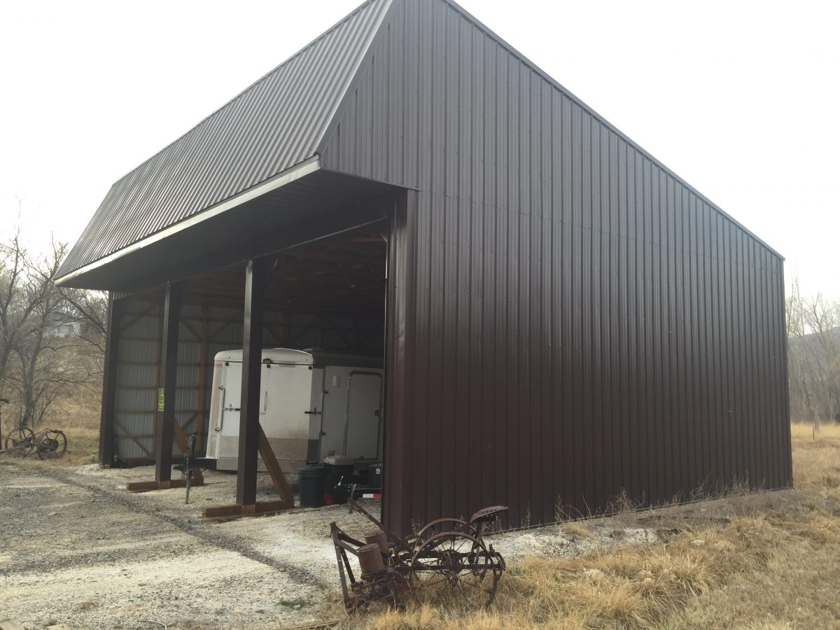 32x40x14 Outdoor Metal Building