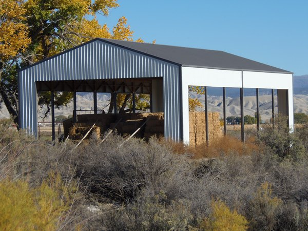 Outdoor Metal Hay Building in Delta, CO