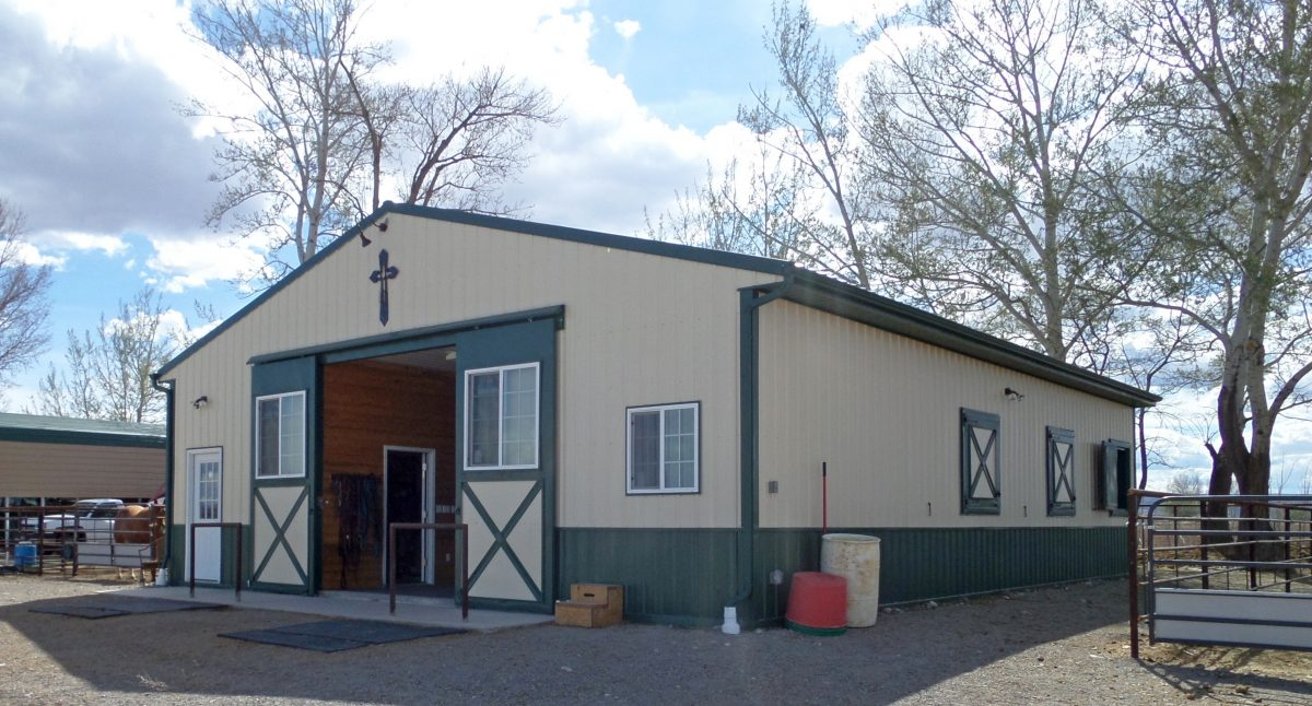 36X48X11 - Metal Horse Barn Supplier