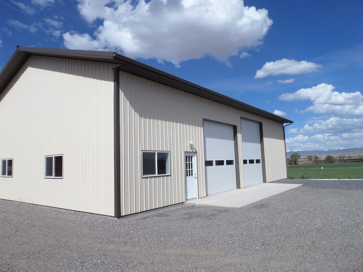 Metal Building System in Delta CO