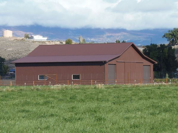 Metal Building Horse Barn
