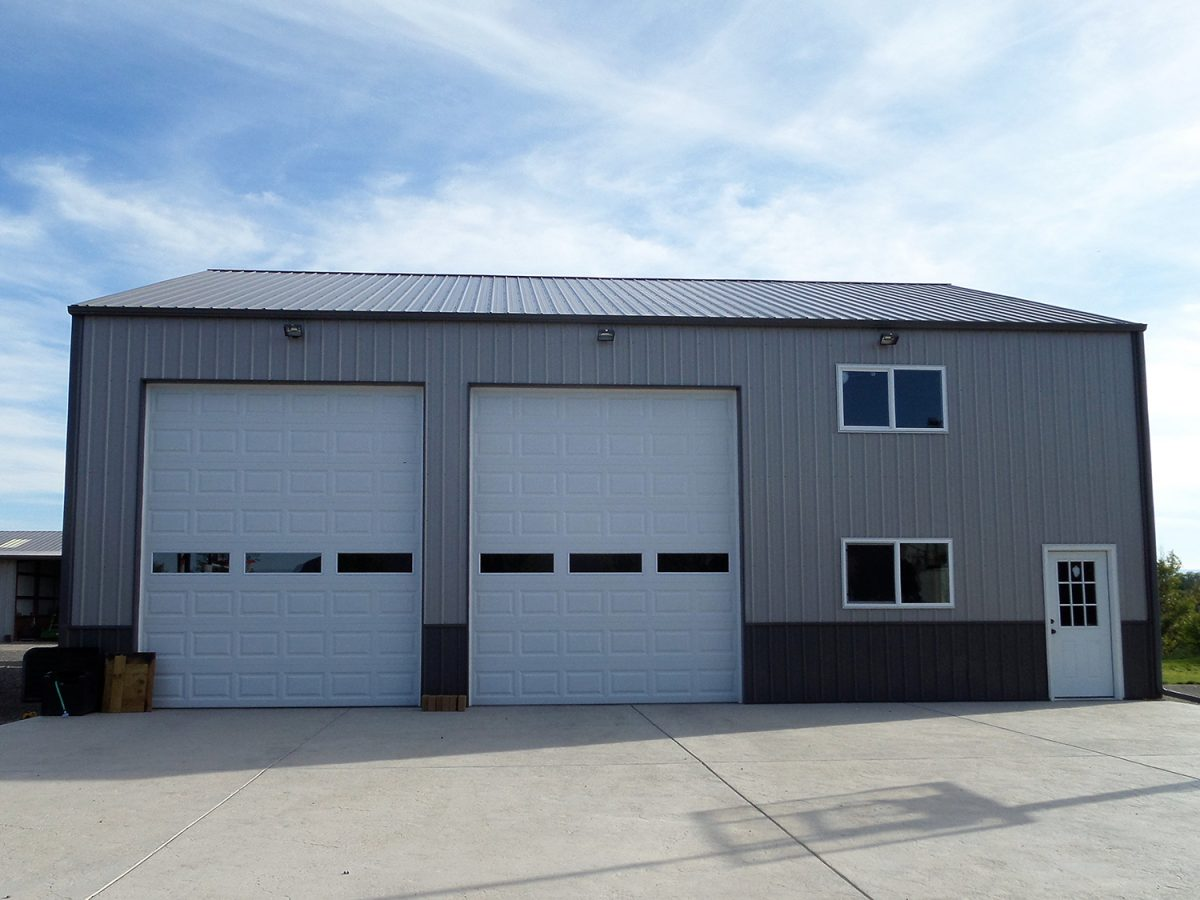 Custom Metal Garage by LOOK Buildings