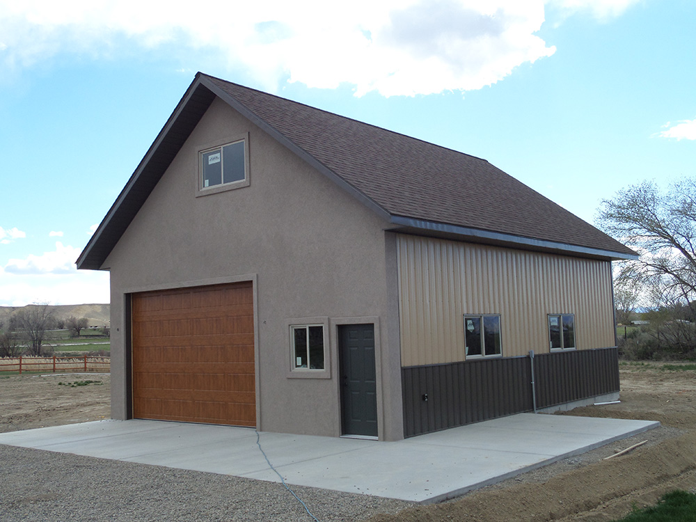 Metal Building - Residential Garage